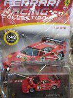 FERRARI F40 GTE 6H VALLELUNGA GOLD CUP 1996 FERRARI RACING C. #42 Mib 1:43