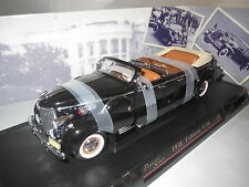 "Road Signature  ""1938"" Cadillac V-16 Presidential Limo  (schwarz/braun) 1:24 OVP"
