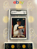 2003 Topps 206 Derek Jeter #5 - 10 GEM MINT GMA Graded Yankees Baseball Card