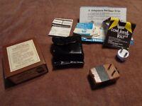Vtg Franzus Convertavolt Foreign Travel Converter Photo Flash 90W ORIG BOX D1