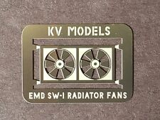 ETCHED RADIATOR FAN FOR WALTHERS EMD SW-1 HO SCALE BY KV MODELS KV-109H