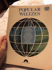 Popular Waltzes Universal Favorites Series Vol. 12 Piano Solos Sheet Music Book