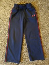 Boys Under Armour Pants, Size 6, Blue And Red