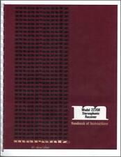 Marantz 2235B Stereo Receiver Owners Manual