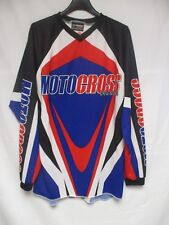 Maillot MOTO CROSS FRANCE KENNY Sports shirt made in France M