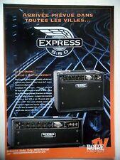 PUBLICITE-ADVERTISING :  Amplis MESA Express 5:50  10/2007