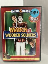 The March of the Wooden Soldiers Laurel & Hardy W/ Bonus Rudolph Movie DVD New