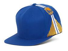 Mitchell & Ness Golden State Warriors Blank Front Short Hook Snapback