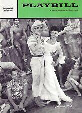 "Lena Horne ""JAMAICA"" Ricardo Montalban / Harold Arlen / Alvin Ailey '58 Playbill"