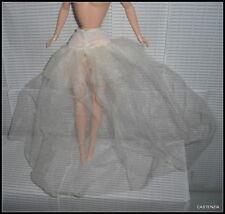 Lingerie Barbie Doll Mattel Disney Snow White White Slip Skirt Bottom Accessory