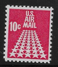 US Scott #C72, Single 1968 Air Mail 10c FVF MNH
