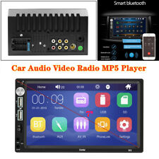 7'' Car Bluetooth Audio Video Radio MP5 Player USB/TF Card/AUX for iOS & Android