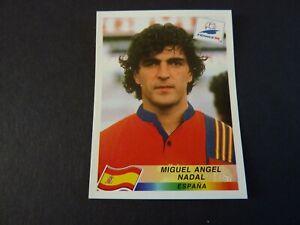Miguel Angel Nadal - Panini France 98 Football Sticker Nr Mint! Spain Black Back