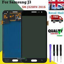 Per Samsung Galaxy J3 SM-J320F 2016 Nero LCD Display Touch Screen Digitizer UK