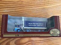 EFE 1:76 AEC Ergo Box Van BRITISH ROAD FERRY SERVICES 22105 Die Cast Model New