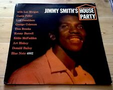 JIMMY SMITH ~ House Party ~1959 US SIGNED MONO Blue Note DEEP GROOVE RVG Ear