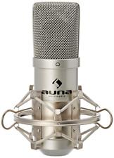 Auna Mic 900s Studio Pro Condenser Cardioid Microphone USB Plug & Play PC Laptop