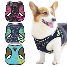 Breathable No Pull Dog Harness Reflective Step in Dog Walking Vest Front Leading