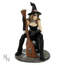 SEXY WITCH EROTIC MORGANAS SEDUCTION GUITAR STATUE ORNAMENT FIGUREINE MODEL NEW