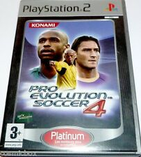 PlayStation 2 jeu PRO EVOLUTION SOCCER 4 PES platinum console ps2 complet BE