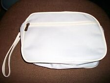 Lot Of 10 New Drug Rep Cosmetic, Makeup Bags, Overnight Cases. With 1 Oz. Lotion