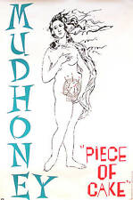 Mudhoney 1992 Piece Of Cake Original Promo Poster