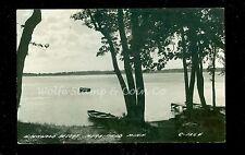 1945 RPPC Birchwood Resort Merrifield MN  Real Photo Postcard B499