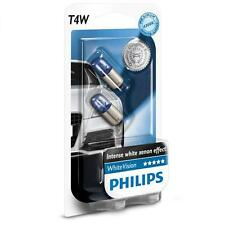PHILIPS White Vision Ultra Parking Lights T4W 4300K 4W 12v - 12929NBVB2