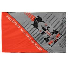 McLaren Flag vodafone H 91cm, L 144cm Formula 1