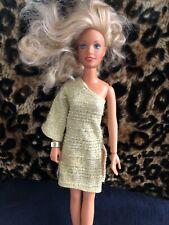 Kenner Darci Doll ~ Cover Girl ~ Blonde ~ Gold Dress & Bracelet