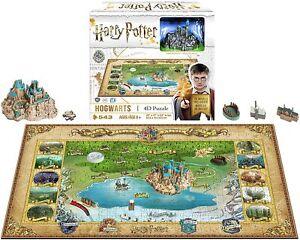 4D Mini Harry Potter Hogwarts Puzzle