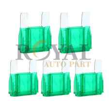 5 Pack of 30 Amp 30A Large Blade Style Audio Maxi Fuse for Car Truck  12v