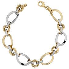 0cc17d072e36 Pulseras de joyería de metales preciosos sin piedras amarillo oro ...