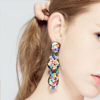 BOHO Women Artificial stone Earring Drop Dangle Ear Stud Earrings Jewely Gift