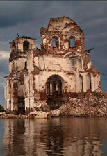 Framed Print - Abandoned Cathedral Church Russia (Picture Poster Ancient Ruins)