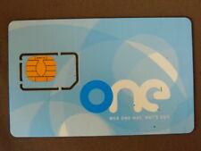 GSM Chip Card MINT Ongebruikt Oostenrijk - ONE