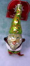 New Slavic Treasures Retired Glass Ornament - Stumpy Elf 2002