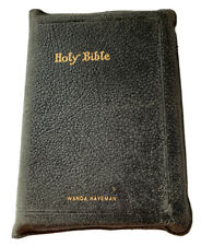 Vintage Holy Bible Pronouncing KJV Self Pronouncing Teacher's Edition Red Letter