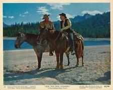 RANDOLPH SCOTT JOEL MCREA Complete Set 12 RIDE THE HIGH COUNTRY MGM Color Photos