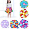 Kids Girls Tulle Tutu Princess Skirt Dress Up Party Costume Ballet Dance Cute