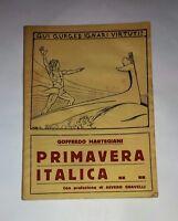 """Primavera italica - Goffredo Martegiani - Tip. """"La fiorita"""", 1926"""