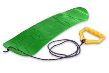 Ondis24 Mini Snowboard für Kinder Rutschboard Lern-Snowboard mit Halteseil grün