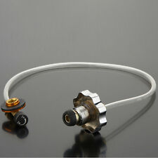 1 Pc Camping Coupler Adapter Propane Refill Lp Gas Flat Cylinder Tank Hot!