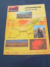 vie du rail 1976 1542 Historique réseau MEUSE RAILWAYS AFGHANISTAN HERAT KABUL K