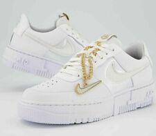 New Air Force 1 Pixel Summit White Dark Beetroot Gold Sneaker Sportschuhe 38-45