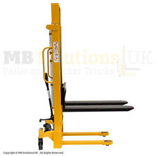 Hydraulic  1000kg Manual Pallet  Lifter Mover Stacker 3m lift VAT INC.