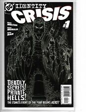 Identity Crisis #1 MIchael Turner cover second print variant