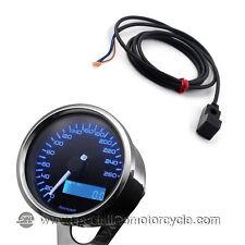 Kit sensore e  Contachilometri Elettronico Daytona Stainless Luce Blu 260Km/h