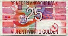 biljet 25 gulden