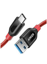 Anker MUSB-C auf USB Ladekabel 90cm Rot, mit Etui